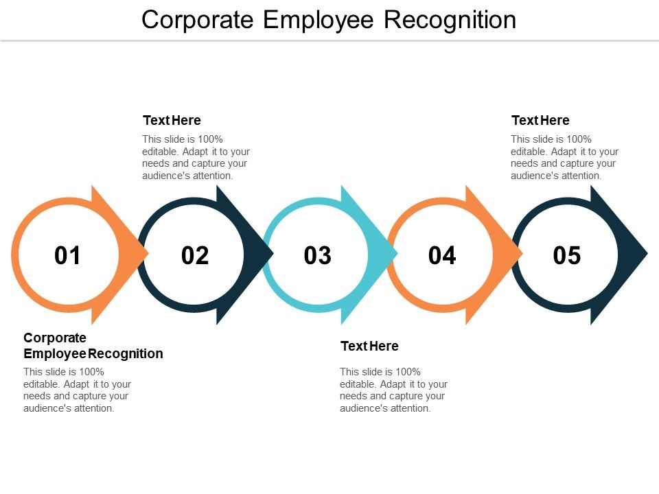 Corporate Employee Recognition Ppt Powerpoint Presentation Infographics Example Topics Cpb