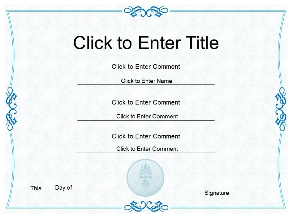 Corporate excellence Award diploma Certificate Template of
