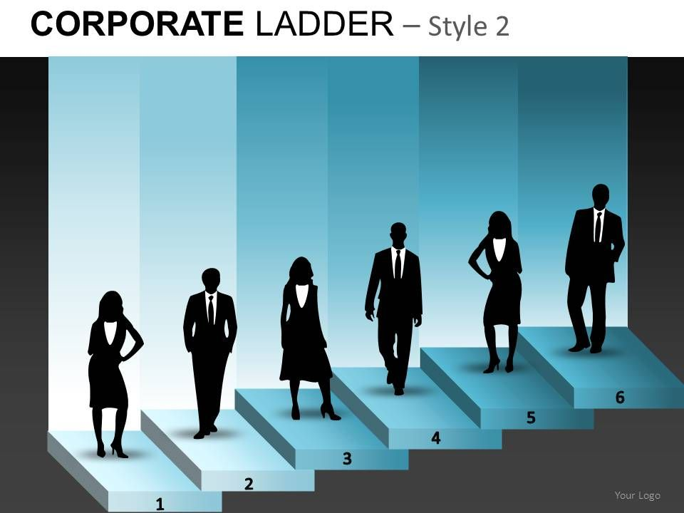 corporate_ladder_2_powerpoint_presentation_slides_db_Slide01