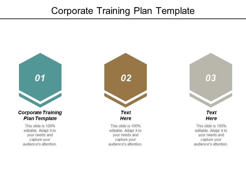Corporate Training Plan Template Ppt Powerpoint ...