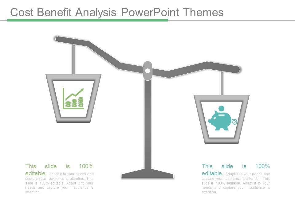cost benefit analysis powerpoint themes | powerpoint slide, Modern powerpoint