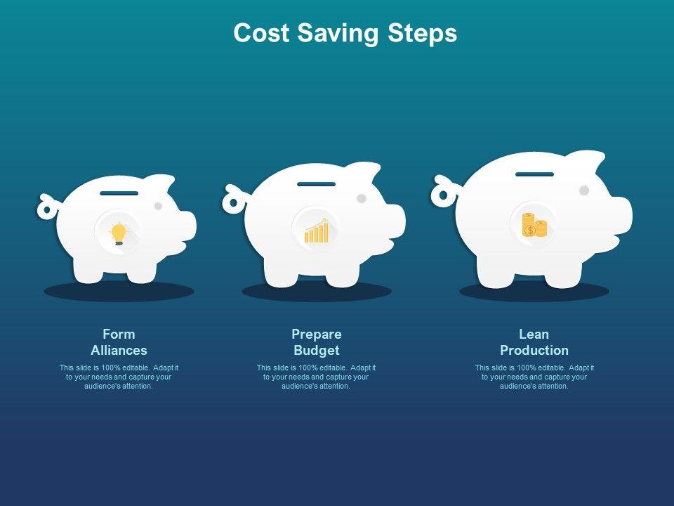 Cost Saving Steps