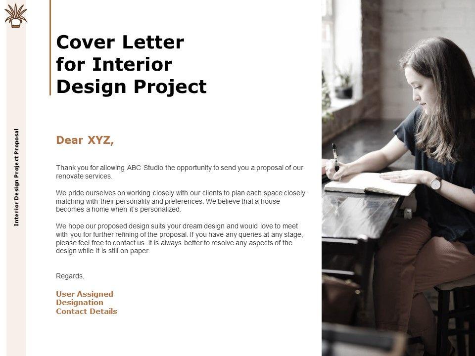 interior design schedule of work template letter