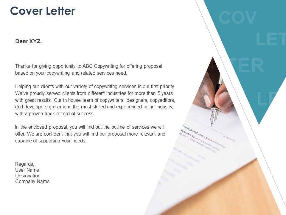 Cover Letter Management L1084 Ppt Powerpoint Presentation ...