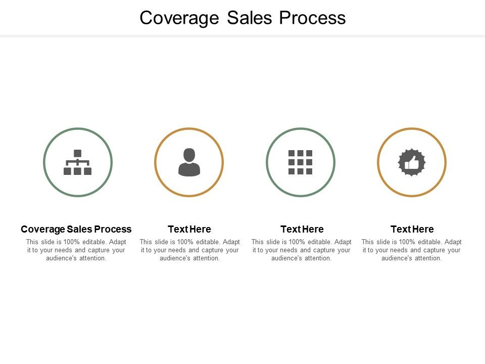 Coverage Sales Process Ppt Powerpoint Presentation Infographic Template Portrait Cpb