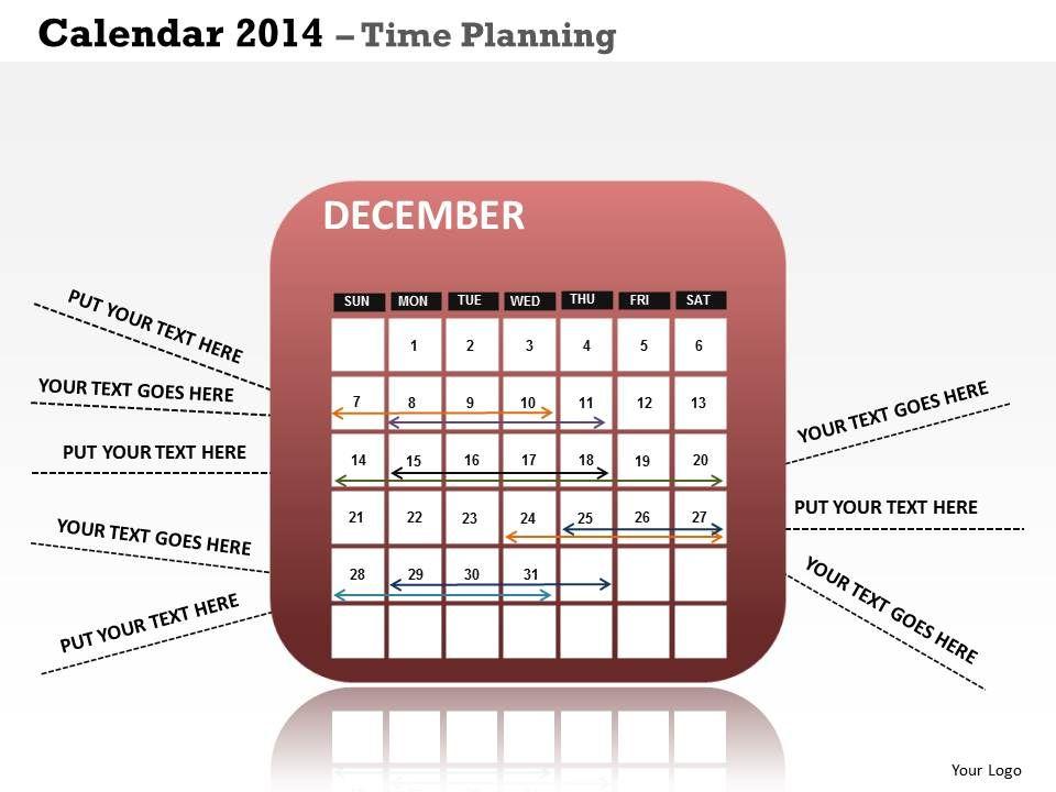 1bro business presentation 2014 calendar