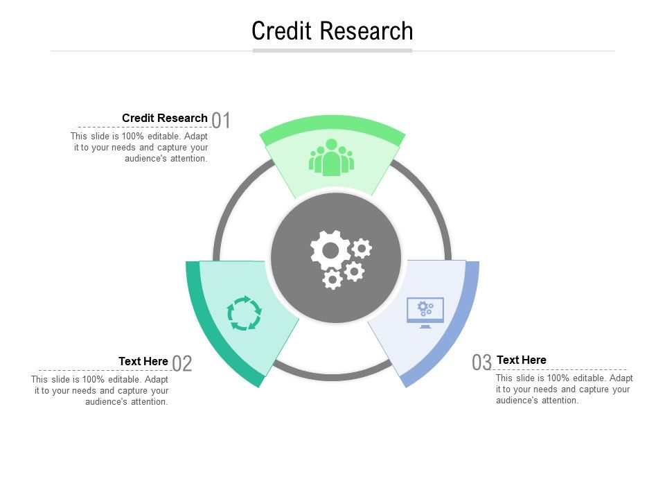 Credit Research Ppt Powerpoint Presentation Infographics Elements Cpb