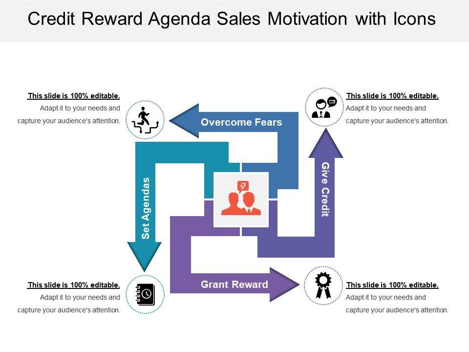 credit_reward_agenda_sales_motivation_with_icons_Slide01