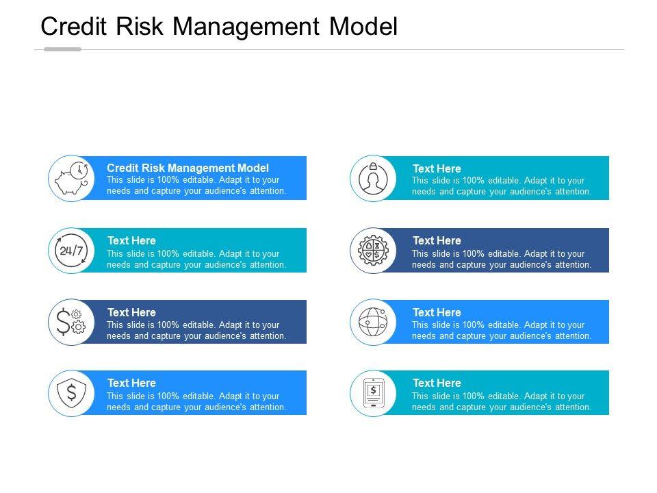 Credit Risk Management Model Ppt Powerpoint Presentation Inspiration Outline Cpb