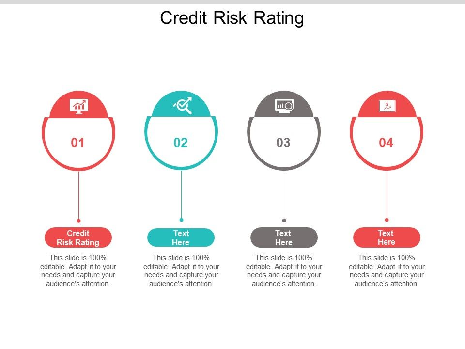 Credit Risk Rating Ppt Powerpoint Presentation Styles Example Cpb
