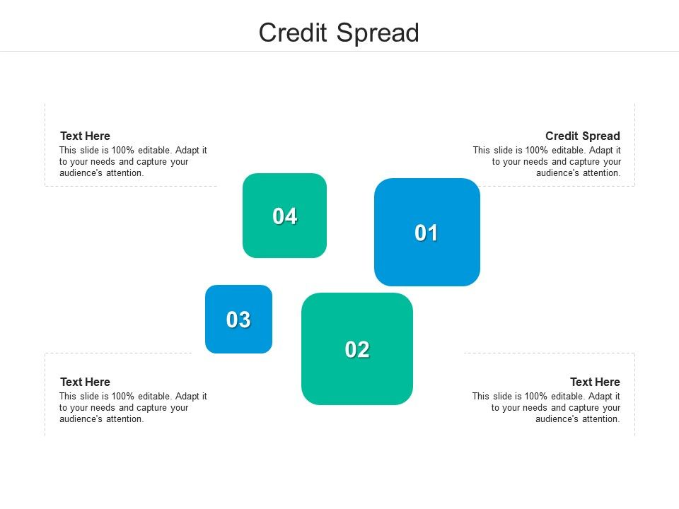 Credit Spread Ppt Powerpoint Presentation Pictures Graphics Cpb