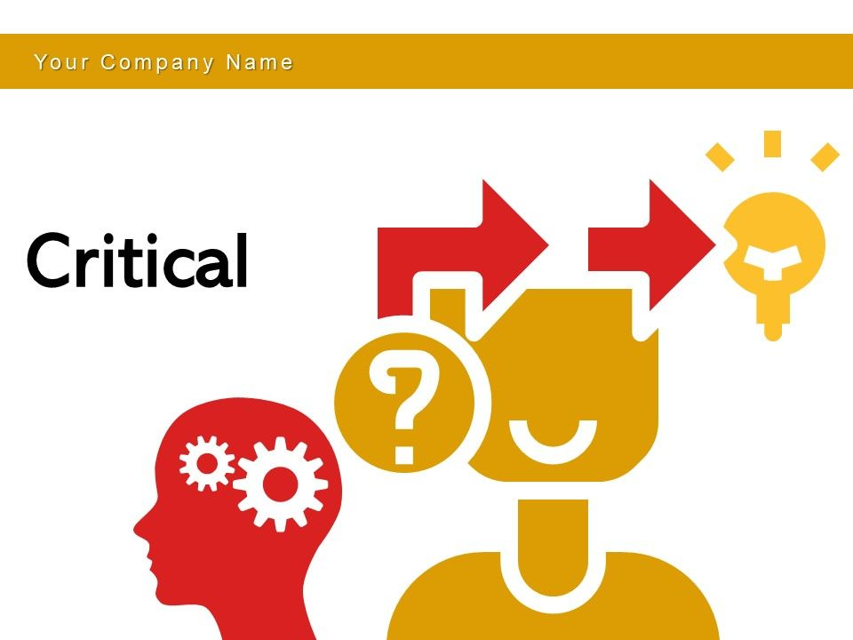 Critical Analysis Revenue Growth Thinking Condition Support System