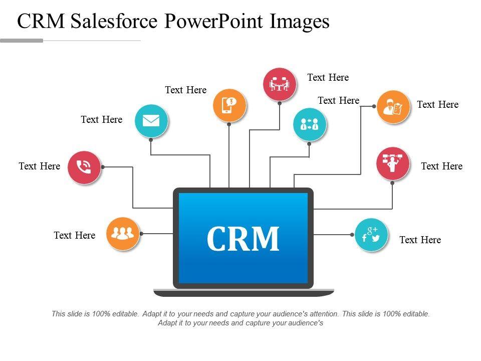 crm salesforce powerpoint images powerpoint design