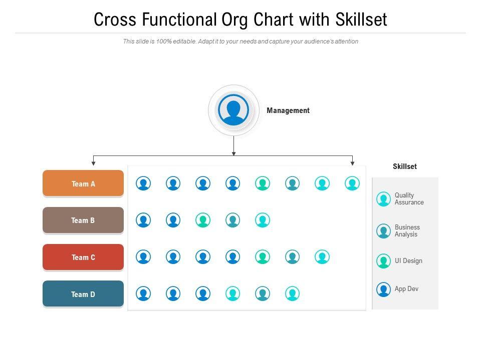 Cross Functional Org Chart With Skillset