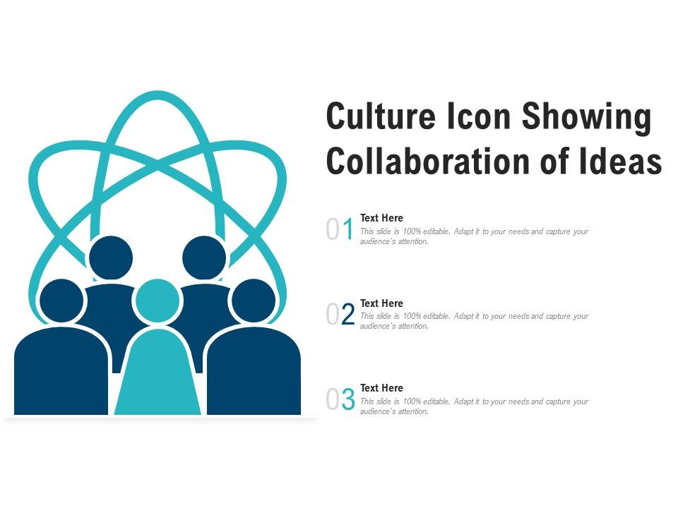 Culture Icon Showing Collaboration Of Ideas