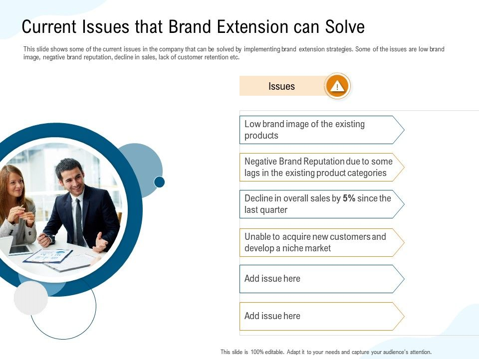 Current Issues That Brand Extension Can Solve Overall Ppt Powerpoint Presentation Diagrams
