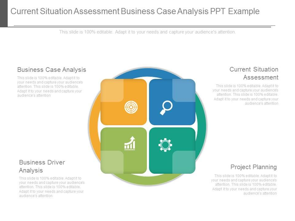 Current Situation Assessment Business Case Analysis Ppt Example