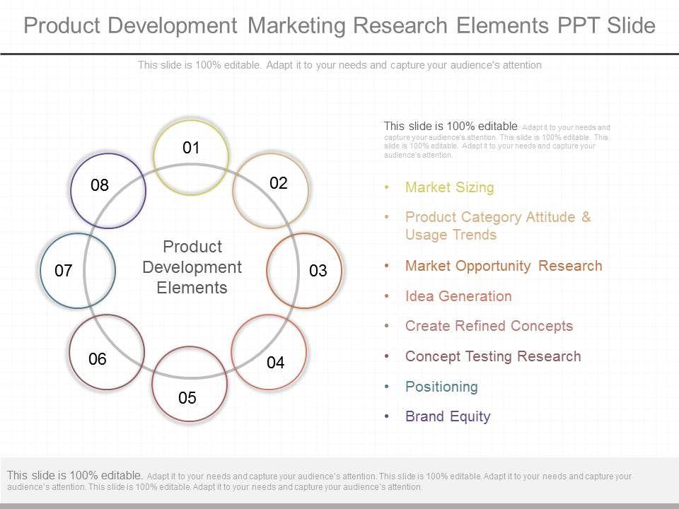 custom_product_development_marketing_research_elements_ppt_slide_Slide01