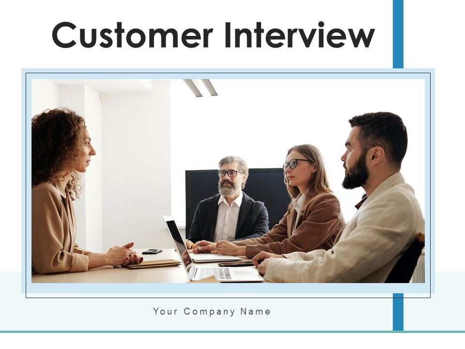 Customer Interview Business Research Organization Consultants Service