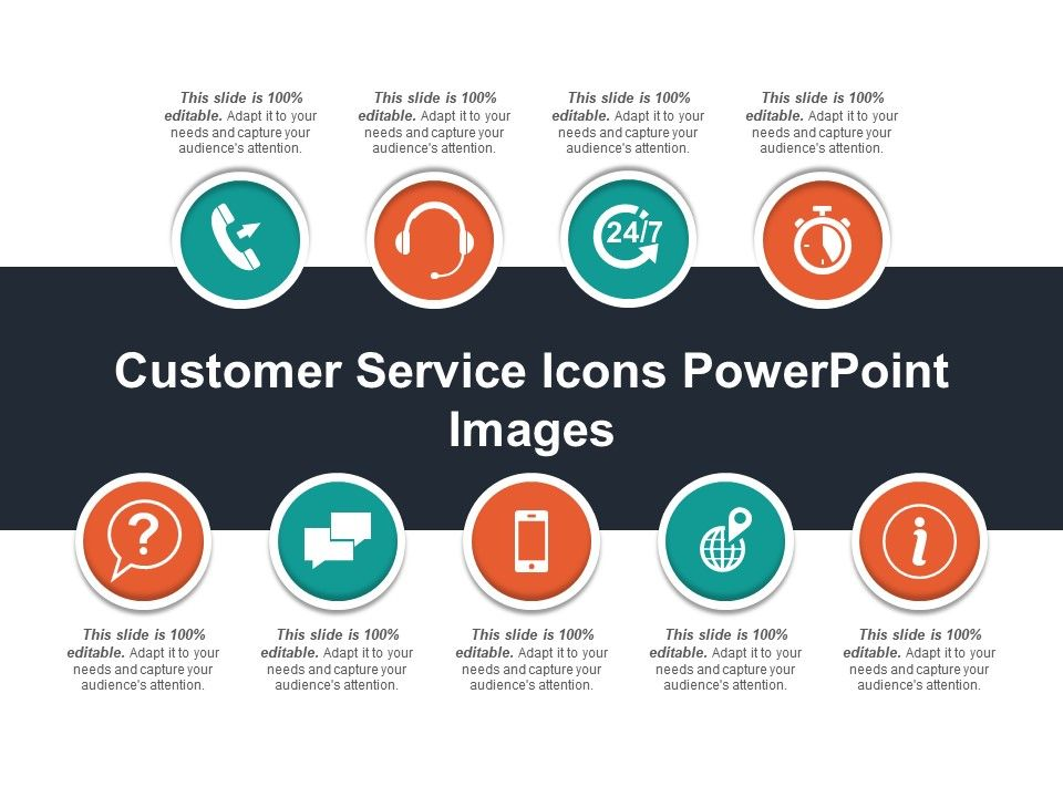 customer service icons powerpoint images powerpoint presentation