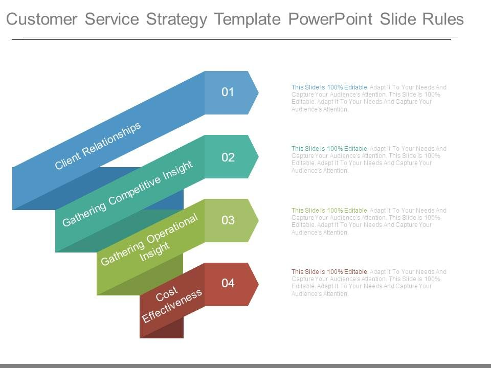 Business Customer Service Strategy Powerpoint Slides Powerpoint