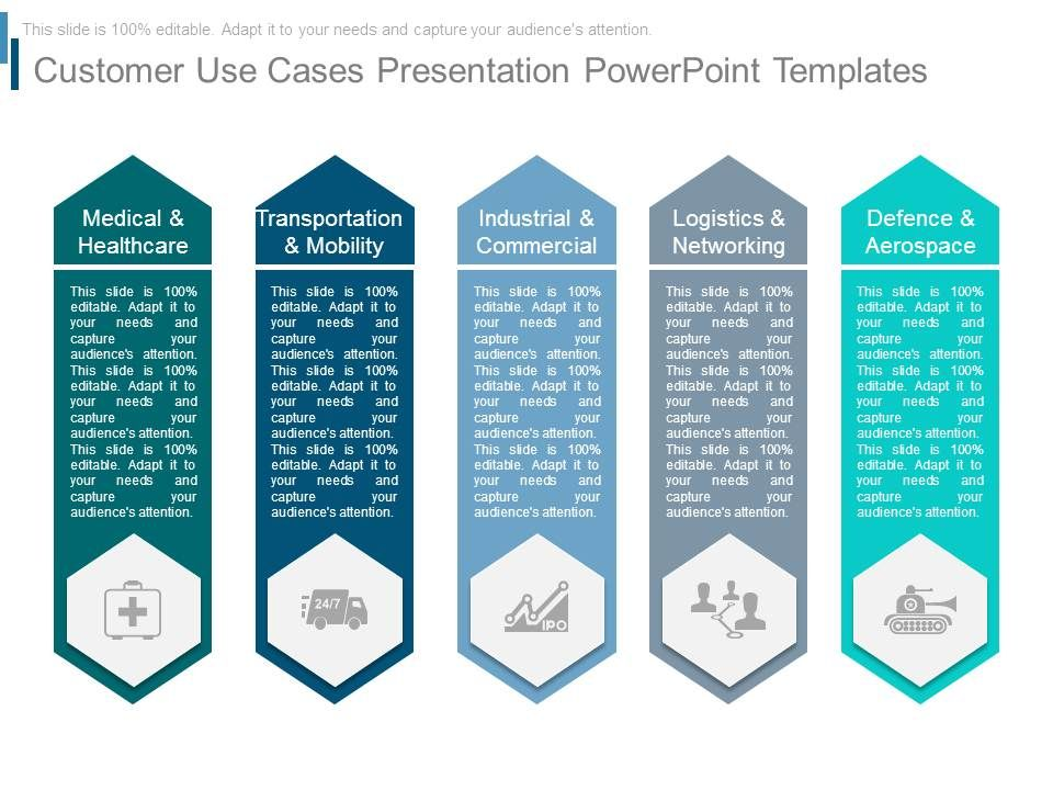 Customer Use Cases Presentation Powerpoint Templates