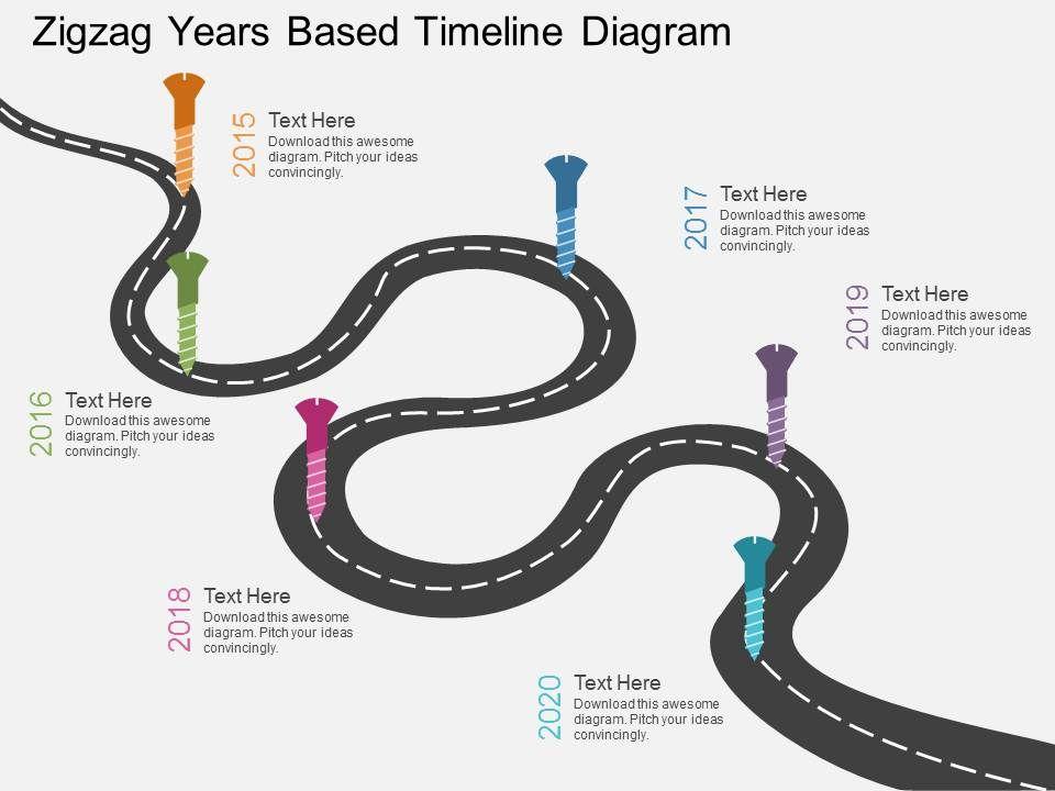 cx_zigzag_years_based_timeline_diagram_flat_powerpoint_design_Slide01