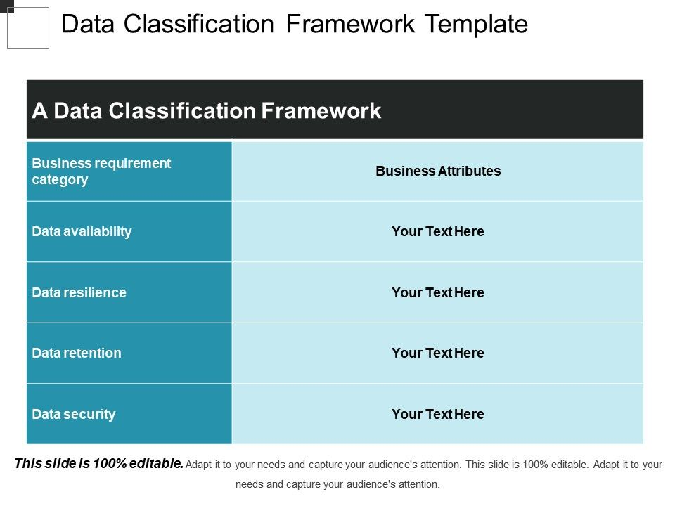 Data classification business chart ppt element | powerpoint pptx.