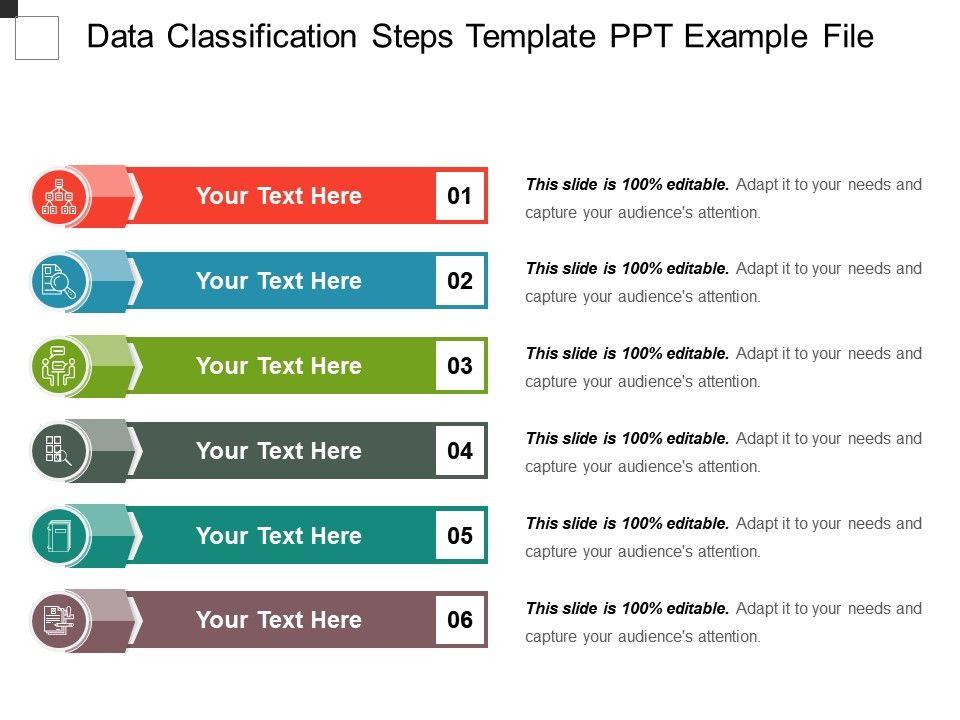 Gdpr data classification template.