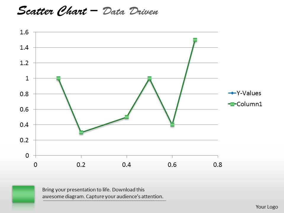data_driven_demonstrate_statistics_with_scatter_chart_powerpoint_slides_Slide01