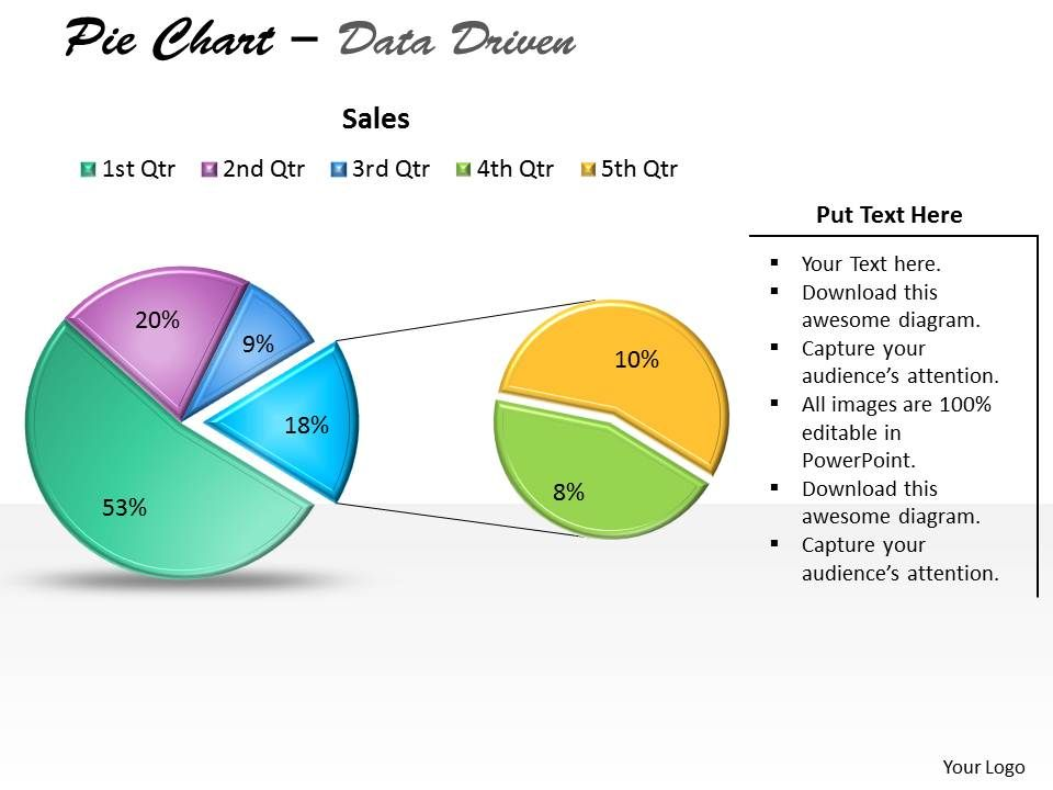 data_driven_pie_chart_for_business_stratregy_powerpoint_slides_Slide01