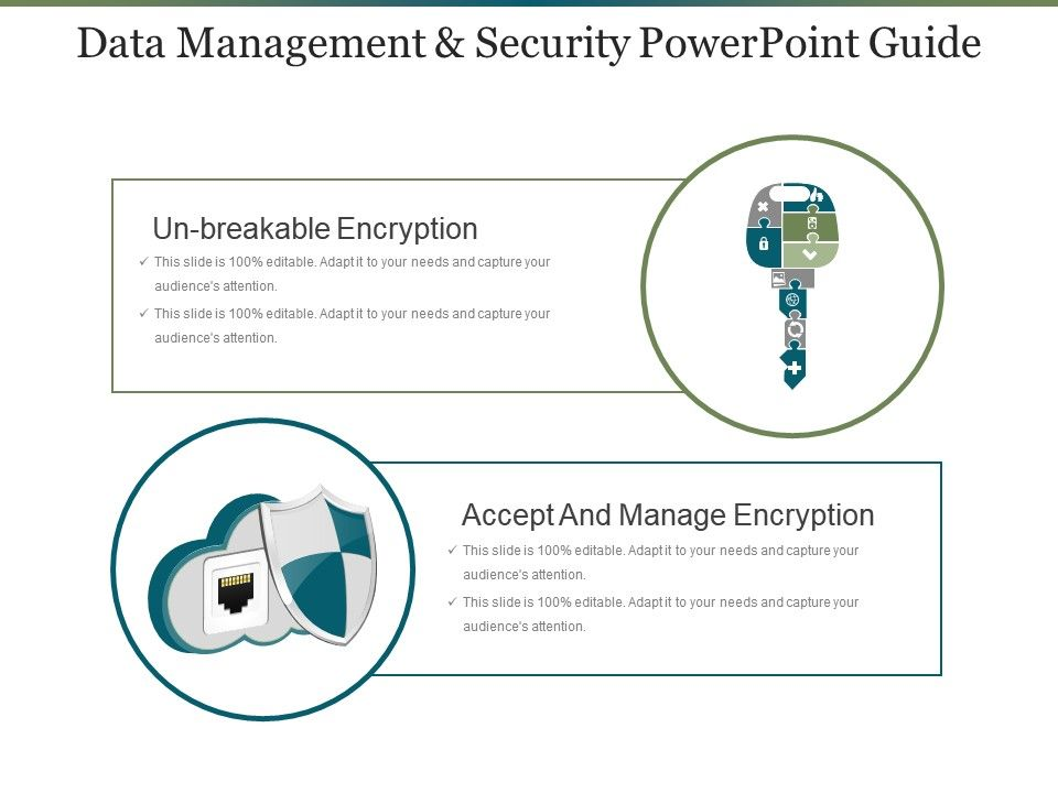 Data Management And Security Powerpoint Guide | PowerPoint