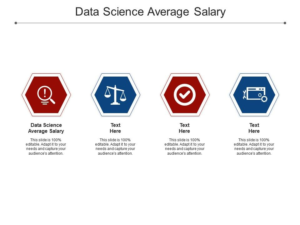 Data Science Average Salary Ppt Powerpoint Presentation Outline Design Templates Cpb
