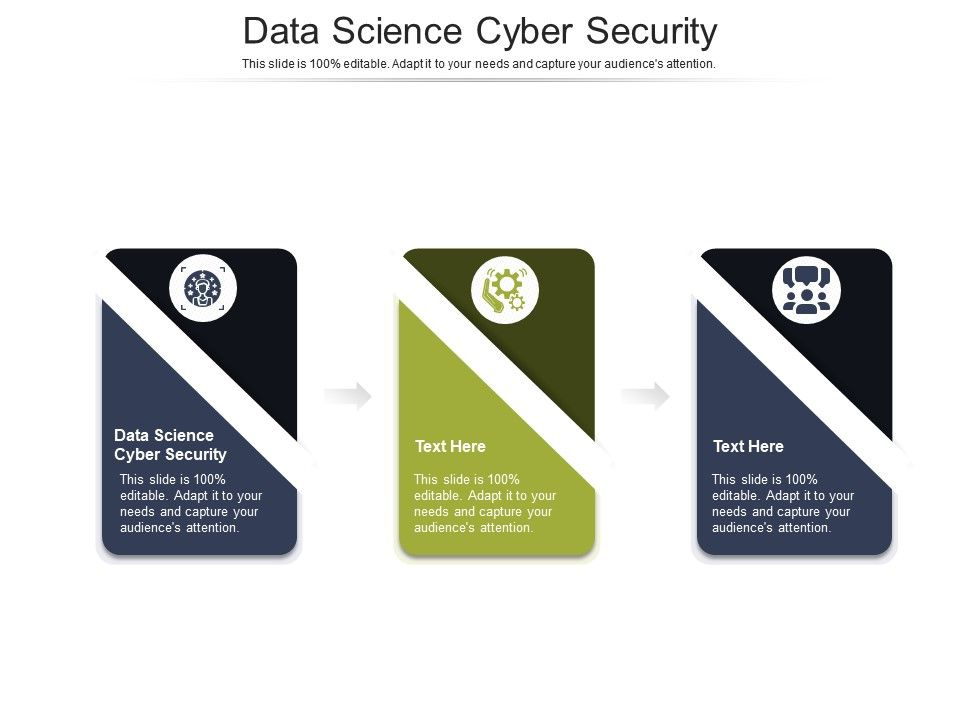 Data Science Cyber Security Ppt Powerpoint Presentation Outline Ideas Cpb