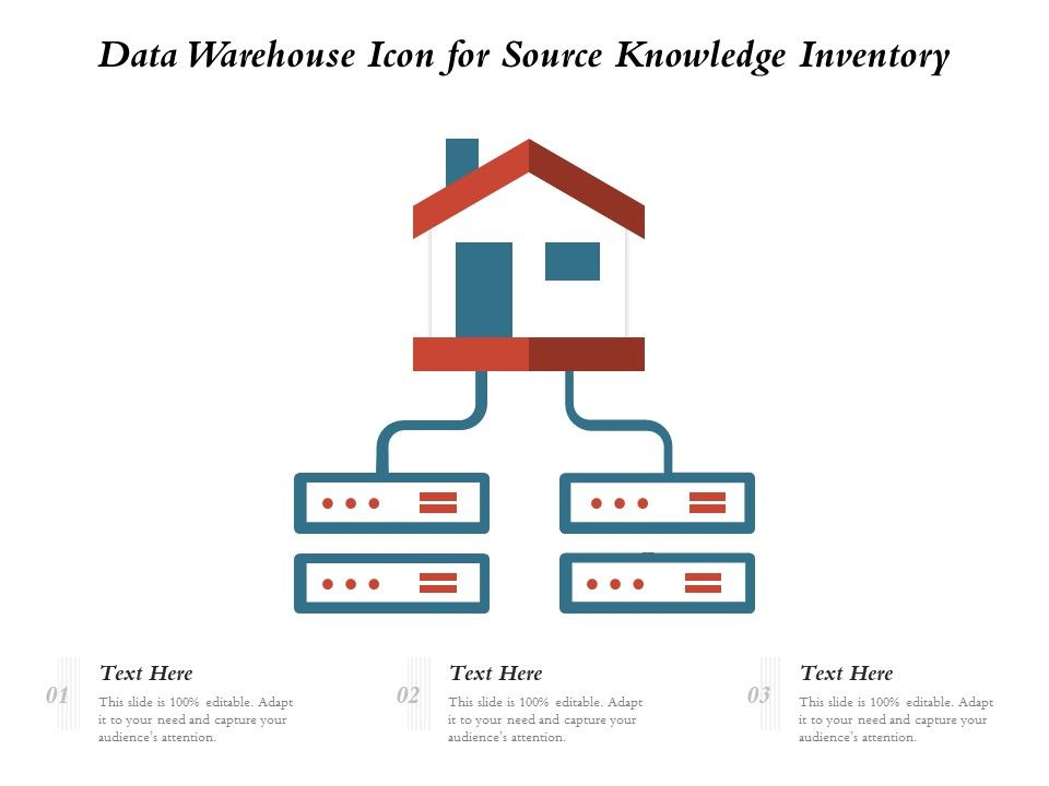 Data Warehouse Icon For Source Knowledge Inventory