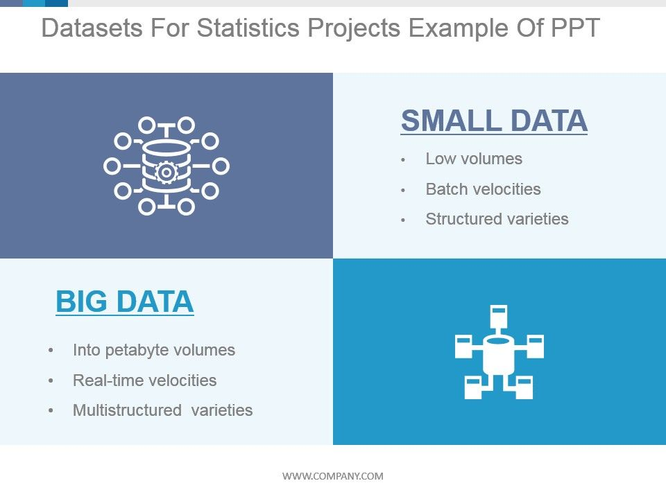 Data sets for statistics projects