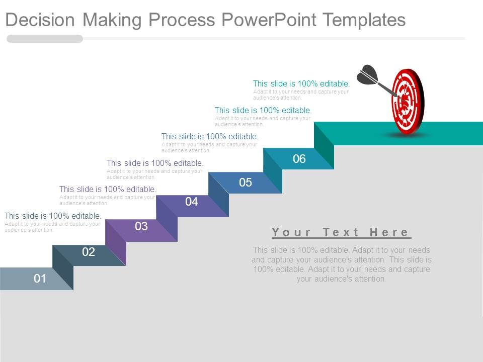 decision making process powerpoint templates presentation