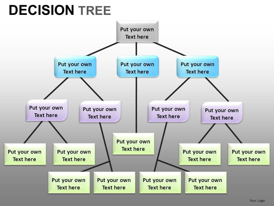 decision tree powerpoint presentation slides db | powerpoint, Powerpoint templates