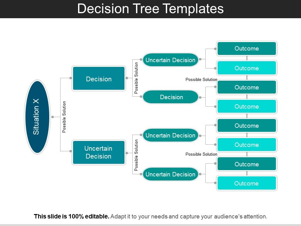 Decision Tree Templates Ppt Sample Presentations Graphics