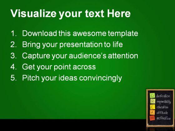 self esteem powerpoint templates - dedication responsibility business powerpoint templates