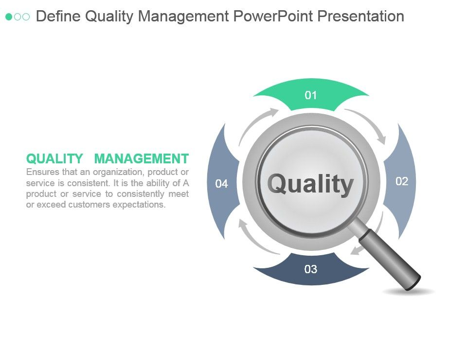 define quality management powerpoint presentation | powerpoint, Modern powerpoint