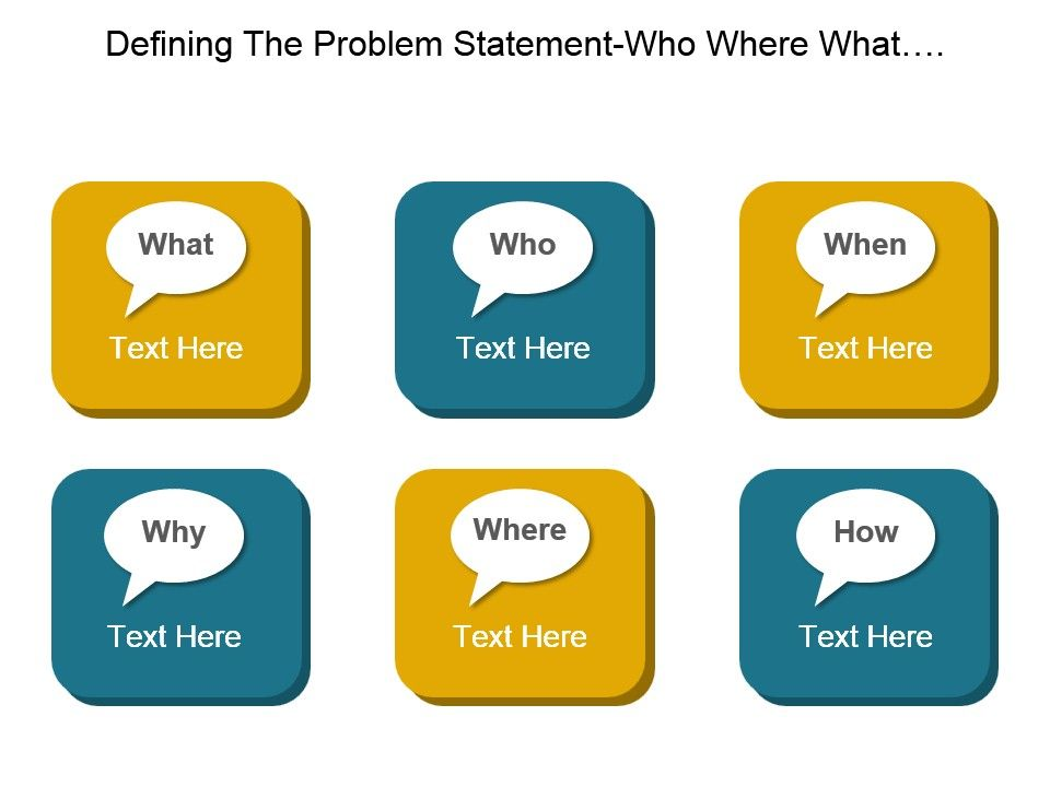 defining_the_problem_statement_who_where_what_when_why_and_how_good_ppt_example_Slide01