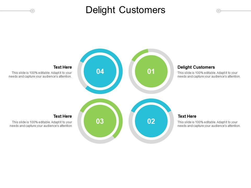 Delight Customers Ppt Powerpoint Presentation Infographics Good Cpb