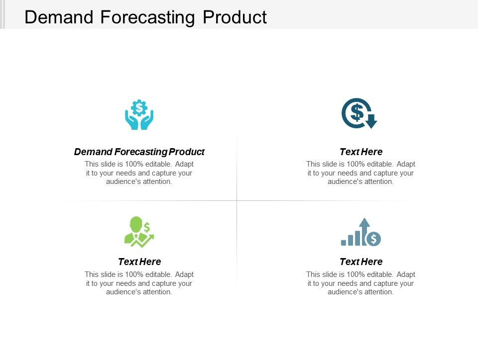 Demand Forecasting Product Ppt Powerpoint Presentation