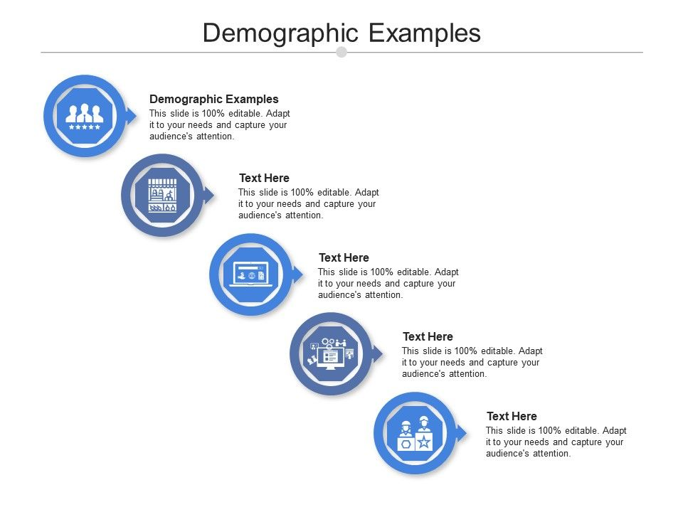 Demographic Examples Ppt Powerpoint Presentation Infographics Outfit Cpb