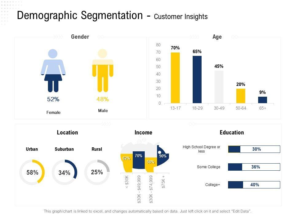 Demographic Segmentation Customer Insights Suburban Ppt Powerpoint Presentation Ideas Design