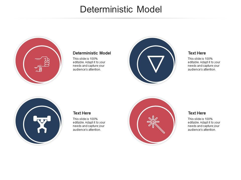 Deterministic Model Ppt Powerpoint Presentation Infographic Template Display Cpb