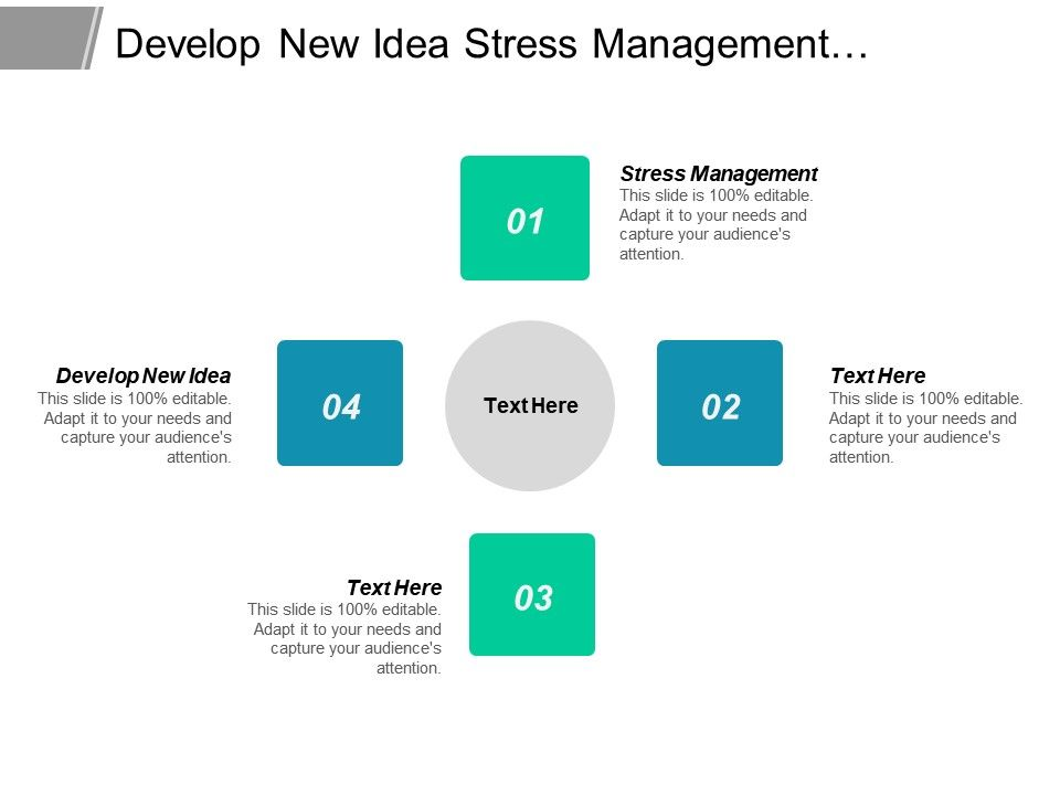 develop_new_idea_stress_management_performance_metrics_decision_tree_cpb_Slide01