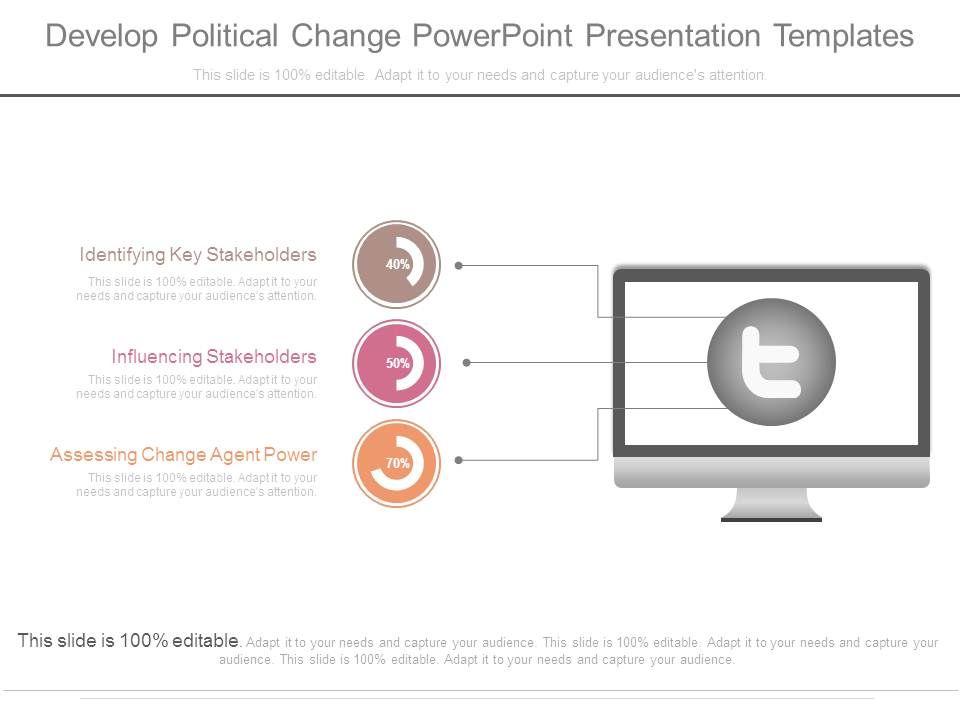 develop political change powerpoint presentation templates, Presentation templates