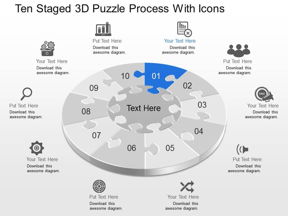 dh_ten_staged_3d_puzzle_process_with_icons_powerpoint_template_Slide01